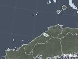 2021年07月21日の島根県の雨雲レーダー