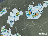 2021年07月22日の群馬県の雨雲レーダー