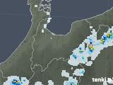 2021年07月22日の富山県の雨雲レーダー