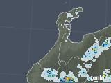 2021年07月22日の石川県の雨雲レーダー