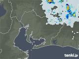 2021年07月22日の愛知県の雨雲レーダー