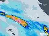 2021年07月22日の沖縄県の雨雲レーダー