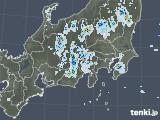 2021年07月23日の関東・甲信地方の雨雲レーダー