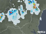 2021年07月23日の栃木県の雨雲レーダー