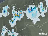 2021年07月23日の群馬県の雨雲レーダー