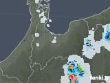 2021年07月23日の富山県の雨雲レーダー