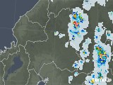2021年07月23日の岐阜県の雨雲レーダー