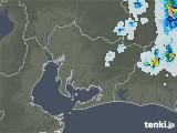 2021年07月23日の愛知県の雨雲レーダー