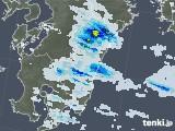 雨雲レーダー(2021年07月23日)