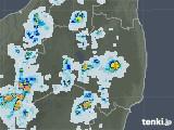 2021年07月24日の福島県の雨雲レーダー