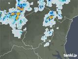 2021年07月24日の栃木県の雨雲レーダー