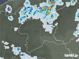 2021年07月24日の群馬県の雨雲レーダー