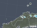 2021年07月24日の島根県の雨雲レーダー