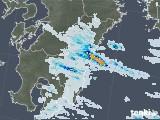 2021年07月24日の宮崎県の雨雲レーダー