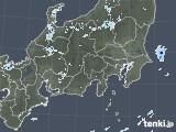 2021年07月25日の関東・甲信地方の雨雲レーダー