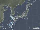 2021年07月25日の雨雲レーダー