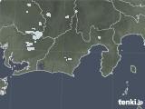 2021年07月25日の静岡県の雨雲レーダー