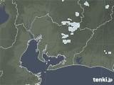 2021年07月25日の愛知県の雨雲レーダー