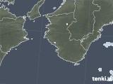 2021年07月25日の和歌山県の雨雲レーダー