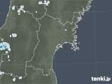 2021年07月25日の宮城県の雨雲レーダー