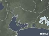2021年07月26日の愛知県の雨雲レーダー