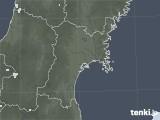 2021年07月26日の宮城県の雨雲レーダー