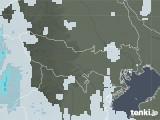2021年07月27日の東京都の雨雲レーダー