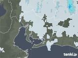 2021年07月27日の愛知県の雨雲レーダー
