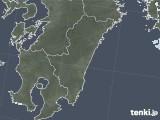 2021年07月27日の宮崎県の雨雲レーダー