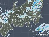 2021年07月28日の関東・甲信地方の雨雲レーダー