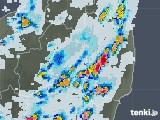 2021年07月28日の福島県の雨雲レーダー