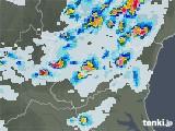 2021年07月28日の栃木県の雨雲レーダー