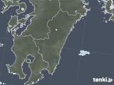 2021年07月28日の宮崎県の雨雲レーダー