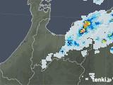 2021年07月29日の富山県の雨雲レーダー