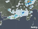 2021年07月29日の静岡県の雨雲レーダー