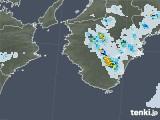 2021年07月29日の和歌山県の雨雲レーダー