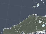 2021年07月29日の島根県の雨雲レーダー