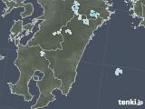 2021年07月29日の宮崎県の雨雲レーダー