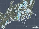 2021年07月30日の関東・甲信地方の雨雲レーダー