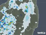 2021年07月30日の福島県の雨雲レーダー