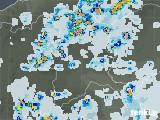 2021年07月30日の群馬県の雨雲レーダー