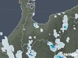 2021年07月30日の富山県の雨雲レーダー