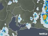 2021年07月30日の愛知県の雨雲レーダー