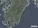 2021年07月30日の宮崎県の雨雲レーダー