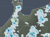 2021年07月31日の富山県の雨雲レーダー