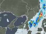 2021年08月03日の大阪府の雨雲レーダー