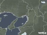 2021年08月05日の大阪府の雨雲レーダー