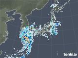 2021年08月08日の雨雲レーダー