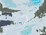 2021年08月09日の大阪府の雨雲レーダー