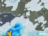 2021年08月21日の大阪府の雨雲レーダー